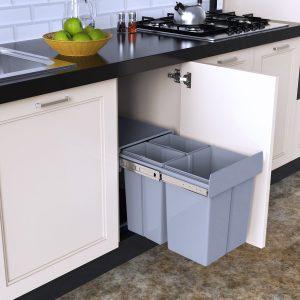 La poubelle coulissante guide comparatif de la poubelle de cuisine - Poubelle de cuisine coulissante ...