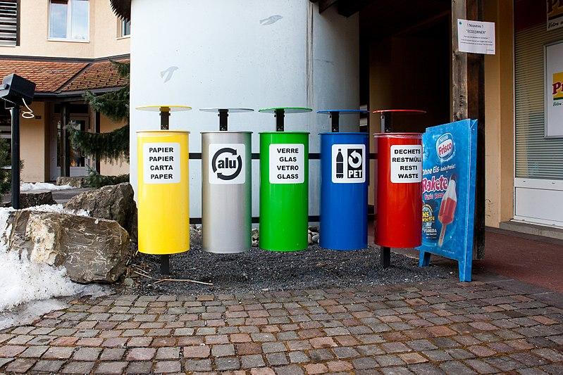 choisir poubelle tri sélectif